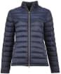 Women's Barbour Ashridge Quilted Jacket - Navy