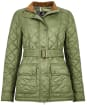 Women's Barbour Bowland Quilted Jacket - Bayleaf