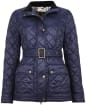 Women's Barbour Bowland Quilted Jacket - Navy