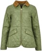 Women's Barbour Haydock Quilted Jacket - Bayleaf
