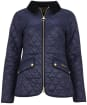 Women's Barbour Haydock Quilted Jacket - Navy