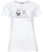 Women's Barbour Highlands Tee - White