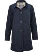 Women's Barbour x Sam Heughan Babbity Waterproof Jacket - Navy / Dress Tartan