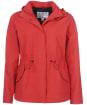 Women's Barbour Promenade Waterproof Jacket - Ocean Red