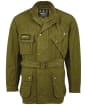 Men's Barbour International Summer Wash A7 Casual Jacket - GREEN MILITARY