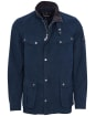 Men's Barbour International Summer Wash Duke Casual Jacket - Indigo