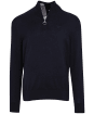 Men's Barbour Tain Half Zip Sweater - New Navy