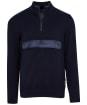 Men's Barbour Cartfile Half Zip Sweater - Navy