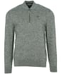 Men's Barbour Sports Half Zip Knit - Rifle Green