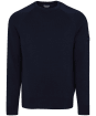 Men's Barbour International Cotton Crew Neck Sweater - International Navy