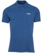 Men's Barbour International Essential Polo - Mid Blue