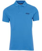 Men's Barbour International Essential Polo - PURE BLUE
