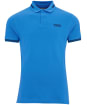 Men's Barbour International Essential Tipped Polo Shirt - PURE BLUE