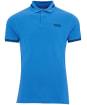 Men's Barbour International Essential Tipped Polo Shirt - PURE BLUE