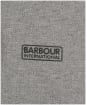 Men's Barbour International Essential Tipped Polo Shirt - Anthracite Marl