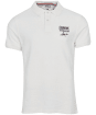 Men's Barbour International Steve McQueen Chad Polo Shirt - Whisper White