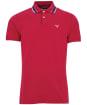 Men's Barbour Multi Tip Polo Shirt - Raspberry