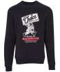 Men's Barbour International Famous Duke Sweater - Black