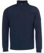 Men's Barbour International Lock Half Zip Sweater - Navy
