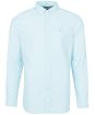 Men's Barbour Oxford 3 Tailored Shirt - Light Aqua