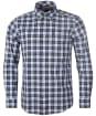 Men's Barbour Highland Check 28 Tailored Shirt - Olive Check