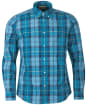 Men's Barbour Sandwood Shirt - Aqua