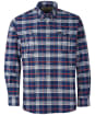 Men's Barbour Barton Coolmax Shirt - Navy Check
