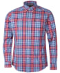 Men's Barbour Highland Check 39 Tailored Shirt - Red Check