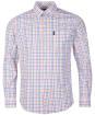 Men's Barbour Tattersall 24 Tailored Shirt - White
