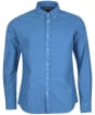 Men's Barbour Oxford 13 Tailored Shirt - Mid Blue