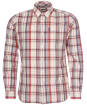 Men's Barbour Madras 8 Tailored Shirt - Neutral Check