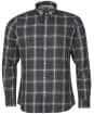 Men's Barbour International Steve McQueen Holman Shirt - Light Moss Check