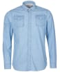 Men's Barbour International Steve McQueen Indy Shirt - Bluestone Print