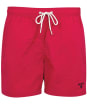 "Men's Barbour Essential Logo 5"" Swim Shorts - Raspberry"