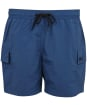 Men's Barbour International Cargo Swim Shorts - Mid Blue