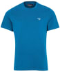 Men's Barbour Sports Tee - LYONS BLUE