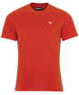 Men's Barbour Sports Tee - Paprika