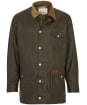 Men's Barbour Pavier Lightweight Waxed Jacket - Archive Olive