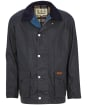 Men's Barbour Alderton Lightweight Waxed Jacket - Royal Navy