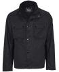 Men's Barbour International Challenge Wax Jacket - Charcoal