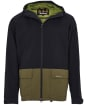 Men's Barbour Ingleton Waterproof Jacket - Black