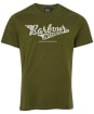 Men's Barbour International Steering Tee - Vintage Green