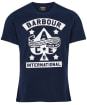 Men's Barbour International Steering Tee - Navy