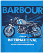 Men's Barbour International Greenwood Tee - Pure Blue