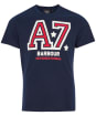 Men's Barbour International Legendary A7 Tee - Navy
