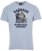 Men's Barbour International Legendary A7 Tee - Flint