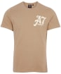 Men's Barbour International Legendary A7 Tee - Military Brown