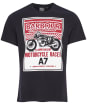 Men's Barbour International Legendary A7 Tee - Black