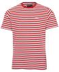 Men's Barbour Delamere Stripe Tee - Paprika