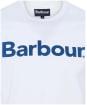 Men's Barbour Logo Tee - White